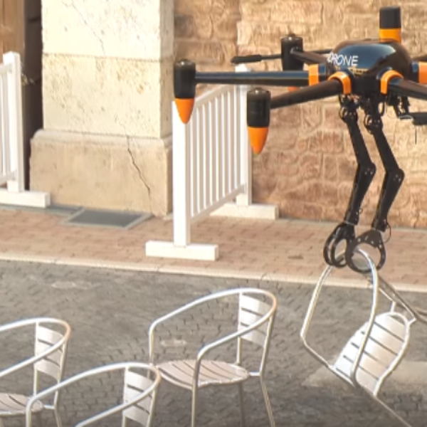 DRONE CHARGING & CONTROL FOR EMERGENCY ROBOTICS