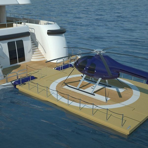DRONE SURVEILLANCE CHARGING & CONTROL FOR MARITIME APPLICATIONS